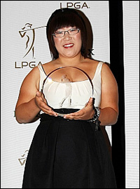 Jiyai Shin Louise Suggs Rolex Rookie of the Year